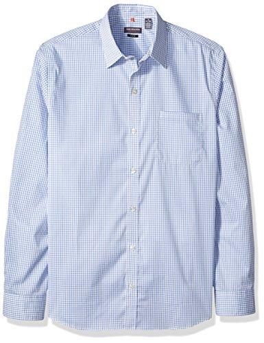 Van Heusen Men's Traveler Slim Stretch Long Sleeve Shirt, Crisp, Large