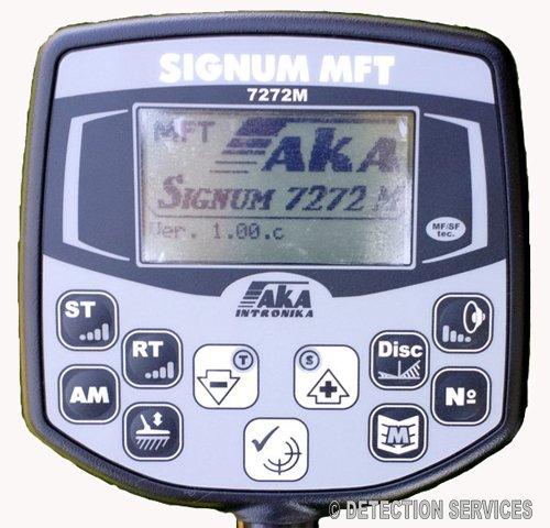 aka Signum MFT 7272 M MF/SF Metal Detector profesional Coil 11, 5dd: Amazon.es: Jardín