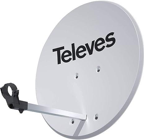 TELEVES 52020 Antena Parabólica Offset con Disco Aluminio ...
