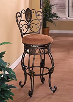 Crown Mark Jasmine 29 Swivel Barstool