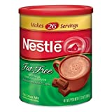 nestles hot chocolate fat free - Nestle Hot Cocoa Mix Fat Free Canisters 7.25 OZ (Pack of 24)