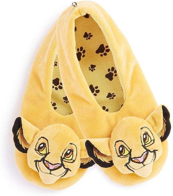 Licensed-Primark Calcetines para mujer de Disney The Lion King Footlets, suaves y acogedores Amarillo amarillo 36/38 EU: Amazon.es: Ropa y accesorios