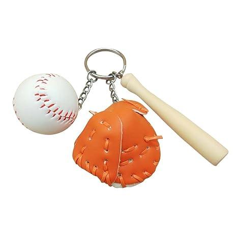 toymy Toy funda llavero llavero con béisbol para hombre ...