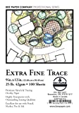 Bee Paper Extra Fine Tracing Pack, 9-Inch by 12-Inch, 100 Sheets per pack