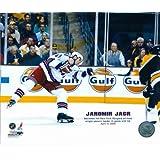 Autograph Warehouse 89865 Jaromir Jagr 8 x 10 Photo Image New York Rangers Single Season Goal Record 53