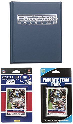 NFL New York Giants Licensed 2013 Score Team Set and Favorite Player Trading Card Pack from C&I Collectables