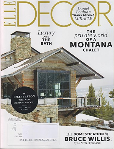 Elle Decor November 2017 The Private World of a Montana Chalet