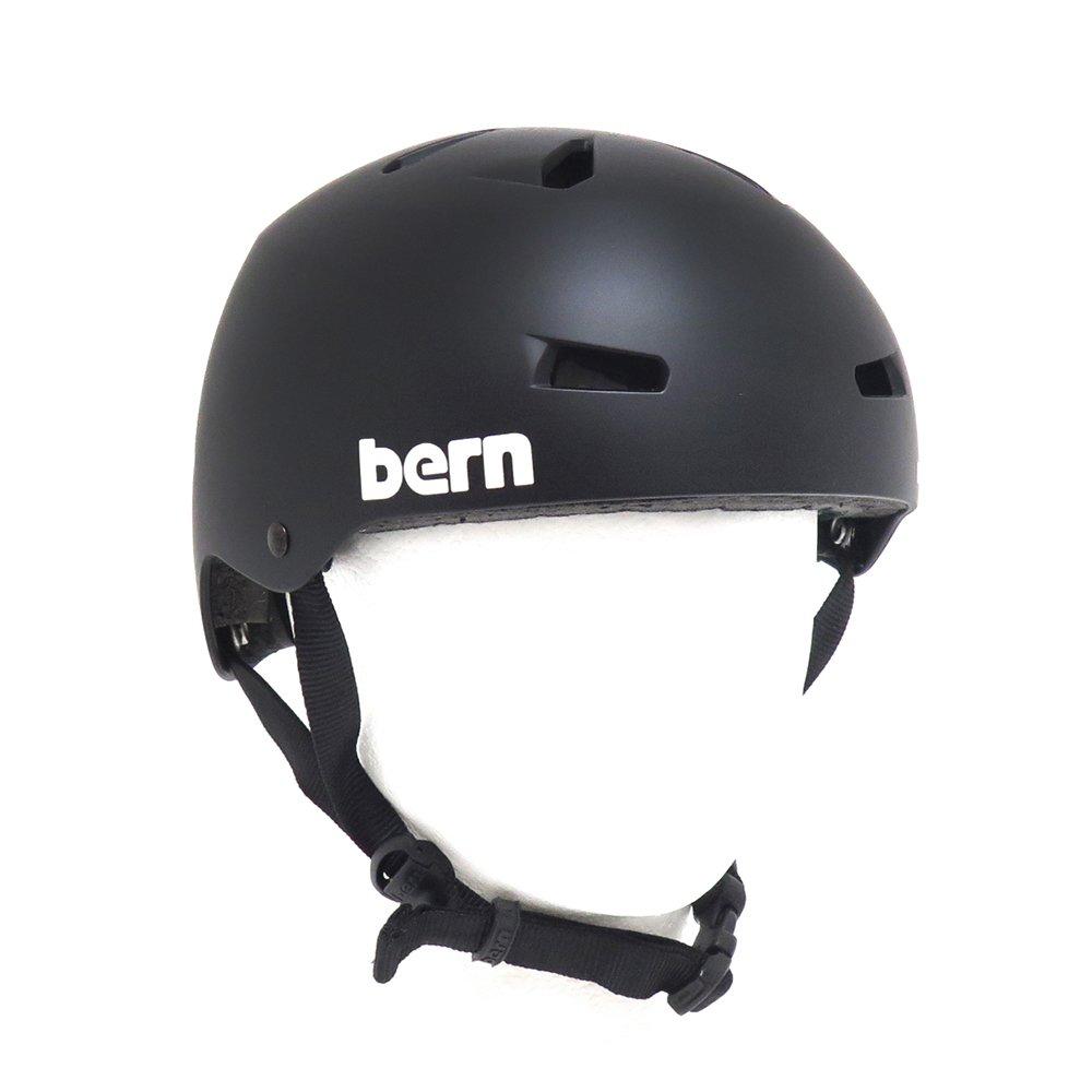 魅力の BERN HELMET HELMET バーン B07DJ8D7VN ヘルメット MACON SKATEBOARD MATTE BLACK スケートボード スケボー SKATEBOARD B07DJ8D7VN MATTE-BLACK(ツヤなし) XL, タマユチョウ:be7e8d46 --- a0267596.xsph.ru