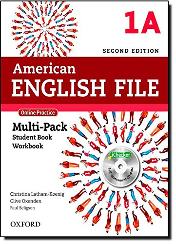 American English File - Level 1a. Multi-Pack. Online Practice (+ iCheker)