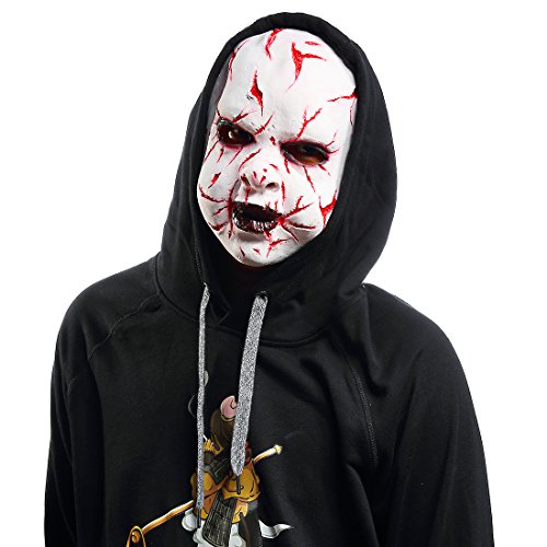 Halloween Death Zombie Scary Clown Cosplay Props Bloody Boy Child's Play (Realistic Scary Halloween Costumes)