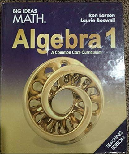 Amazon big ideas math algebra 1 common core teacher edition big ideas math algebra 1 common core teacher edition 2015 1st edition by houghton mifflin fandeluxe Choice Image