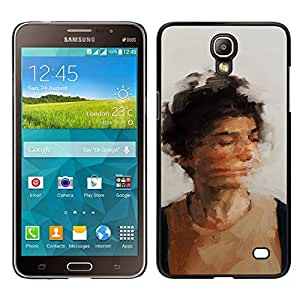 // PHONE CASE GIFT // Duro Estuche protector PC Cáscara Plástico Carcasa Funda Hard Protective Case for Samsung Galaxy Mega 2 / shake your head /
