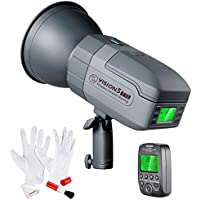 Neewer Vision5 400W TTL for Nikon HSS Outdoor Studio Flash Strobe with Cleaning Kit - 500 Full Power Flashes, German Engineered, 3.96 Pounds, Bowens Mount