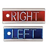 Elite-Style X-Ray Markers ''Left'' and ''Right'' without Initials