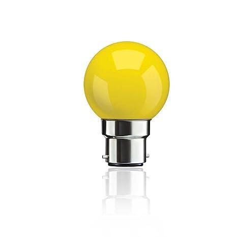 Syska LED 0.5W Bulb Yellow LED Bulbs at amazon