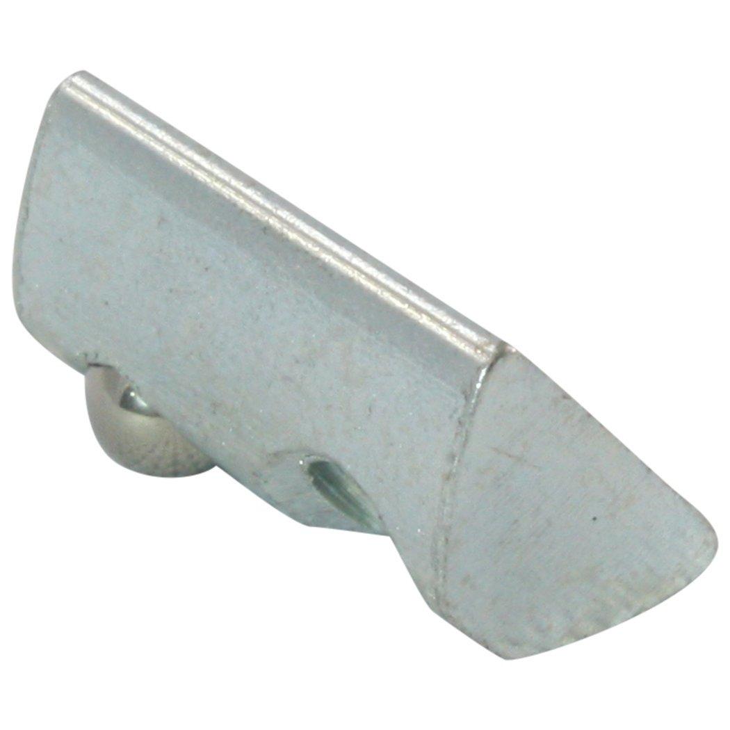 ohne Steg Stahl verzinkt 10x Nutenstein 5 St M4 Nut 5 Typ I Federkugel