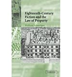 img - for [(Eighteenth-Century Fiction and the Law of Property)] [Author: Wolfram Schmidgen] published on (December, 2014) book / textbook / text book