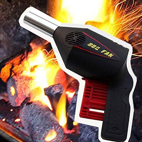 QWERD Ventilateurs pour Barbecue Home Cooking Barbecue Portable BBQ extérieur Ventilateur de réanimations Coals Voyages Camping Pique-Nique Handy Outil Blower Cuisine