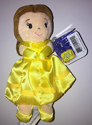 Belle Beauty and The Beast Disney Princess 6 Soft Plush Doll (Ages 3+) The Movie Yellow Dress