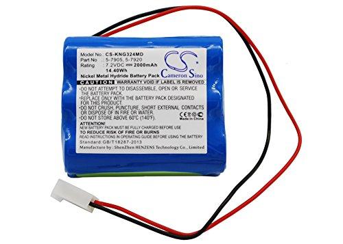 - Upgrade   Cameron Sino Battery for Kangaroo Control Enteral Feeding Pump,Pump 324 Medical Battery Ni-MH 2000mAh / 14.40Wh