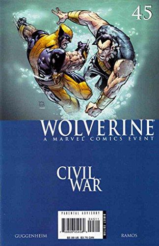 Wolverine (Vol. 3) #45 FN ; Marvel comic book