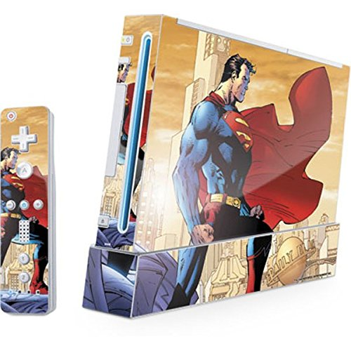Cheap DC Comics Superman Wii (Includes 1 Controller) Skin – Superman Vinyl Decal Skin For Your Wii (Includes 1 Controller)