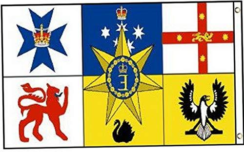 (Kaputar 3x5 Australia Royal Flag Country Banner New Indoor Outdoor | Model FLG - 6800)