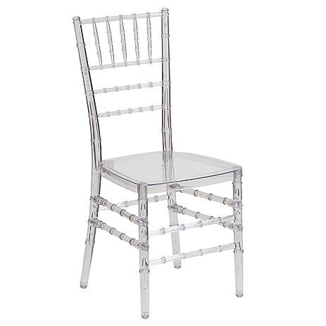 Bon Chiavari Clear Polycarbonate Chair Clear Polycarbonate Dimensions:  15.75u0026quot;W X 20u0026quot;D X