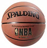 Spalding (2) ea Sports 63-249 Full Size NBA Street Outdoor Basketballs