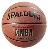 Spalding (2) ea Sports 63-249 Full Size NBA Street Outdoor Basketballs