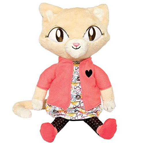 Manhattan Toy Alley Cat Club Jinx Soft Plush Toy 14""