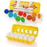 Tippi Colour Matching Egg Set - Toddler Toys - Educational Colour & Number Recognition Skills...