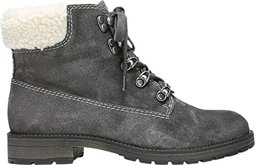 Women's Suede Oily Skin Ankle Velour 2 Tamsen Naturalizer Boot Elephant 6dpxqxwf