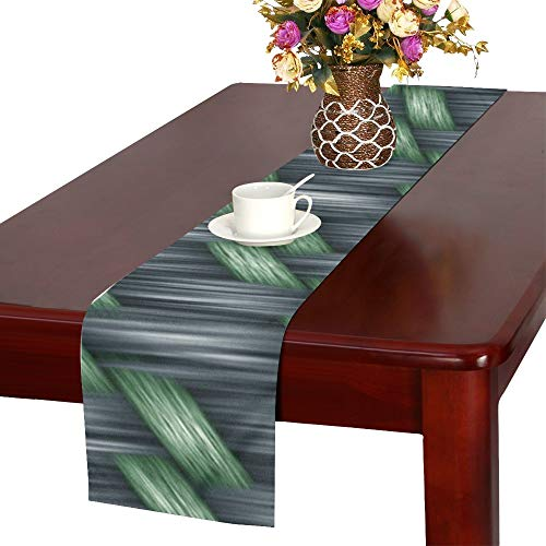 Price comparison product image WBSNDB Scrapbooking Paper Texture Seamless Table Runner,  Kitchen Dining Table Runner 16 X 72 Inch for Dinner Parties,  Events,  Decor