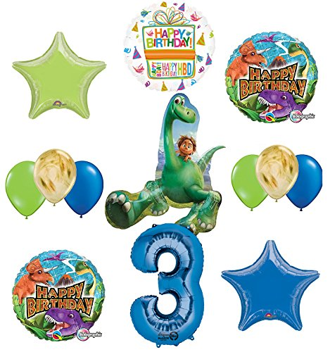 Price comparison product image Arlo and Spot The Good Dinosaur 3rd Birthday Party Supplies and Balloon Decorations
