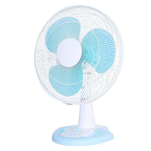 Elektrische Lüfter Desktop Bodenventilator, Home Student Dormitory Zeitschütteln Kopf große Air Volume Fan