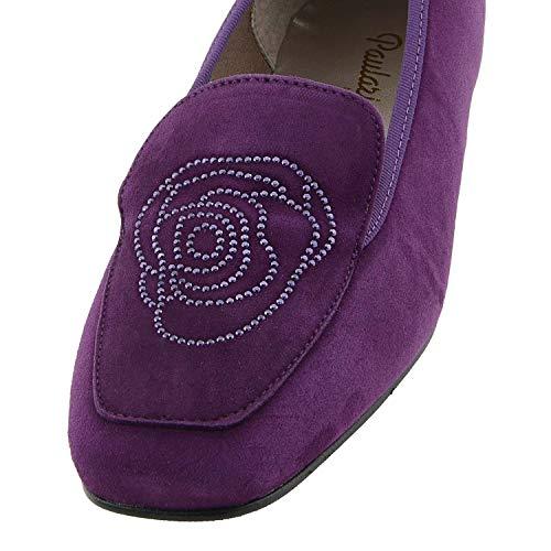 Chaussures Goujons Violet Style Mini Cuir Dkt En Dormeuses apTCPRqw