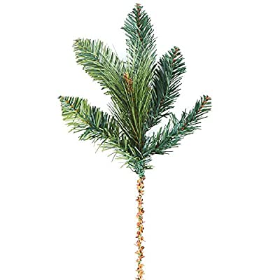 Factory Direct Craft Group of 4 Artificial Forest Pine Sprays For Floral Arranging, Crafting and Creating