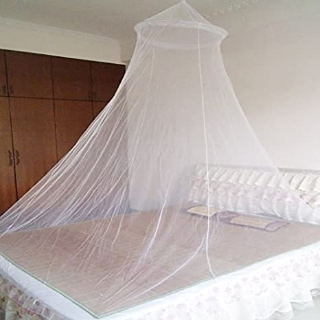 Amazon.com: Topro Dome Bed King Canopy Netting Insect Fly Mosquito Net:  Home & Kitchen