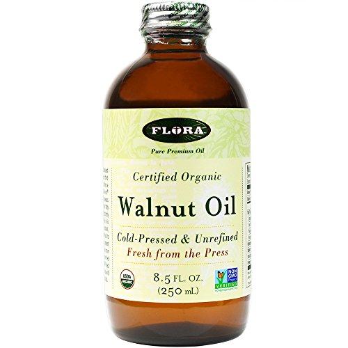 Flora - Certified Organic Walnut Oil - 8.5 oz (FFP)