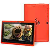 VURU A33 7-Inch 8GB Touchscreen Android Tablet - Red