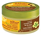 Alba Botanica Coconut Milk Body Cream, 6.5-Ounce, Health Care Stuffs