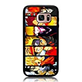 Galaxy S7 Case, Anime Characters Collage Hero Print Cover Soft TPU & Hard Back Shock Drop Proof Impact Resist Protective Case for Samsung Galaxy S7