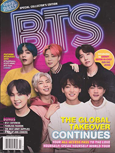 Teen Party Magazine BTS 2019 -