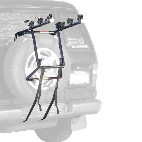 Allen Sports Deluxe 3-Bike Spare Tire Mount Rack (Bike Rack Crv)