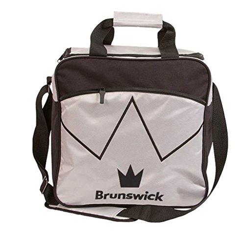 Brunswick Blitz Single Tote Bowling Bag, Silver by Brunswick