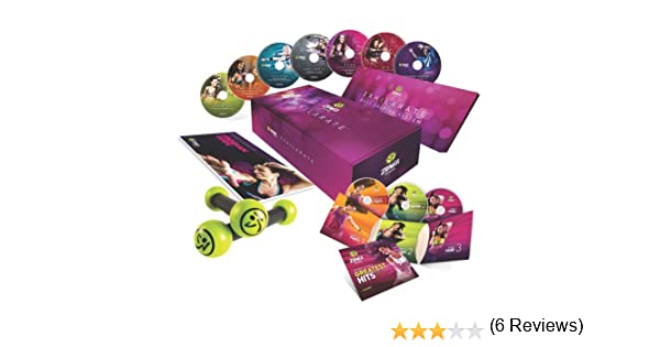 Zumba Fitness® Pack Exhilarate + Greatest Hits CD
