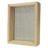 Pete Rickard Rickards Deluxe Sifter 7''x9'' - 1/4'' mesh Wood Frame