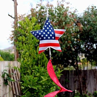 U.S.A. Patriotic Wind Spinner Decoration - 6