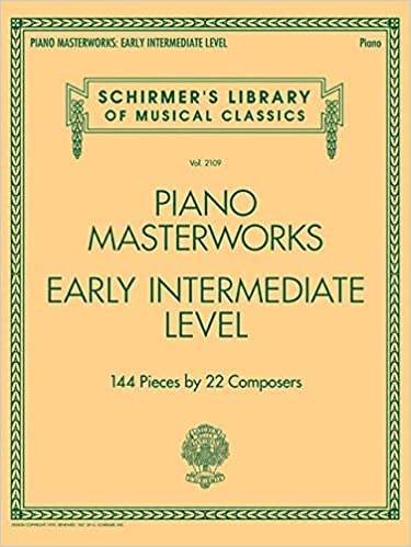 ((BETTER)) Piano Masterworks: Early Intermediate Level - Schirmer's Library Of Musical Classics. Guijarro group usted galeria Aktor example otros